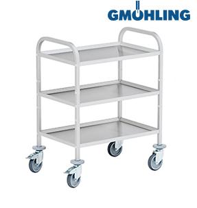 Сервировочные тележки Gmoehling нержавеющая сталь